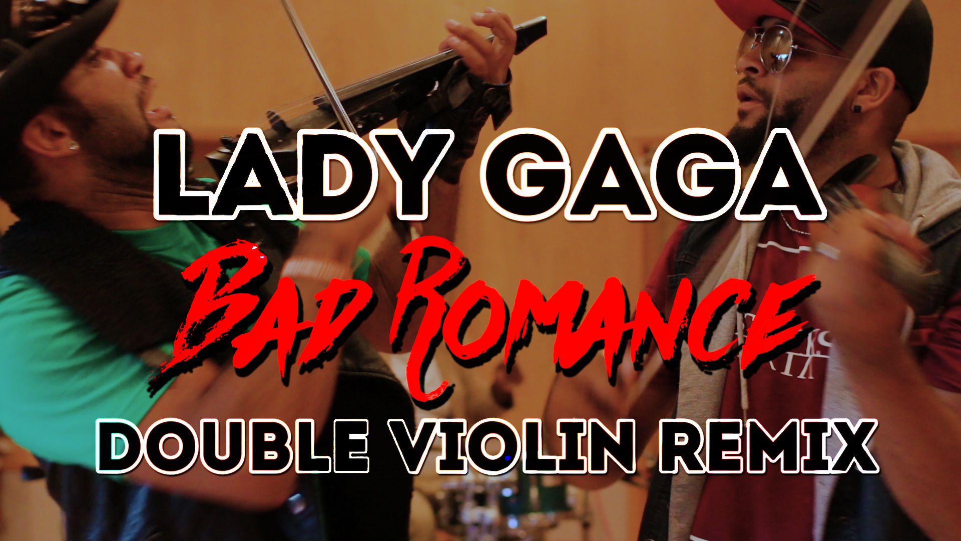 Bad Romance Double Violin Cover