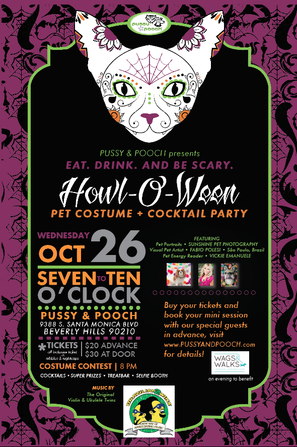 Pussy & Pooch Howloween Beverly Hills
