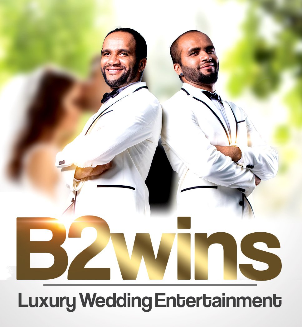 B2wins Luxury Wedding Entertainment Violin and Ukulele Twins