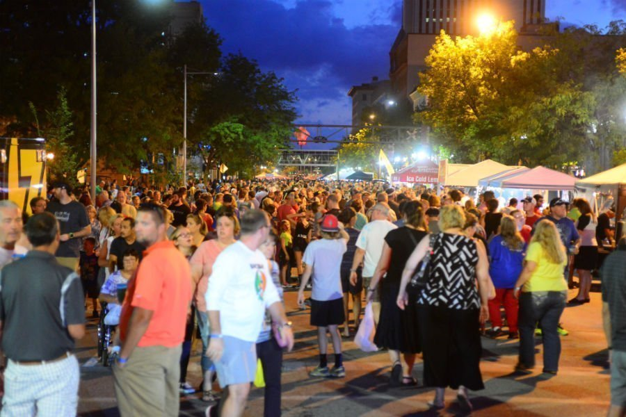market after dark cedar rapids