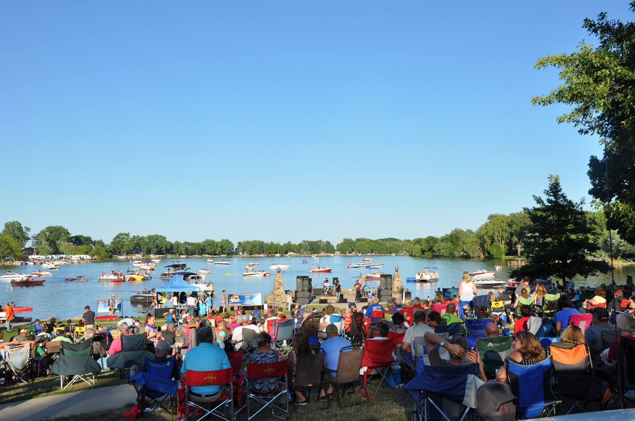 Lake View Iowa Water Carnival 2018 b2wins