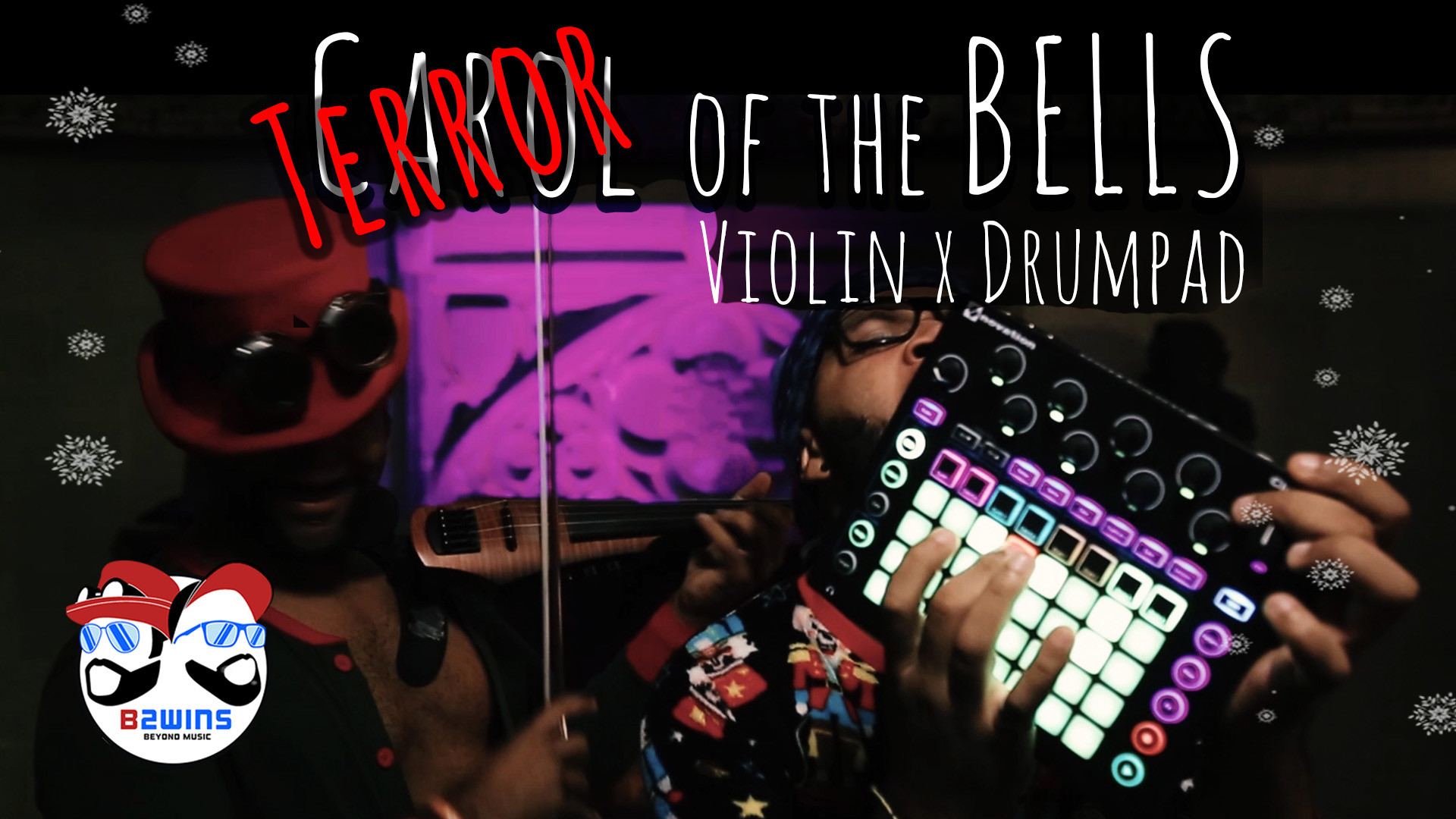 B2wins Terror of the Bells Carol of the Bells Hip Hop Violin