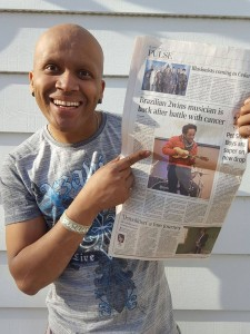 Brazilian twins cancer newspaper