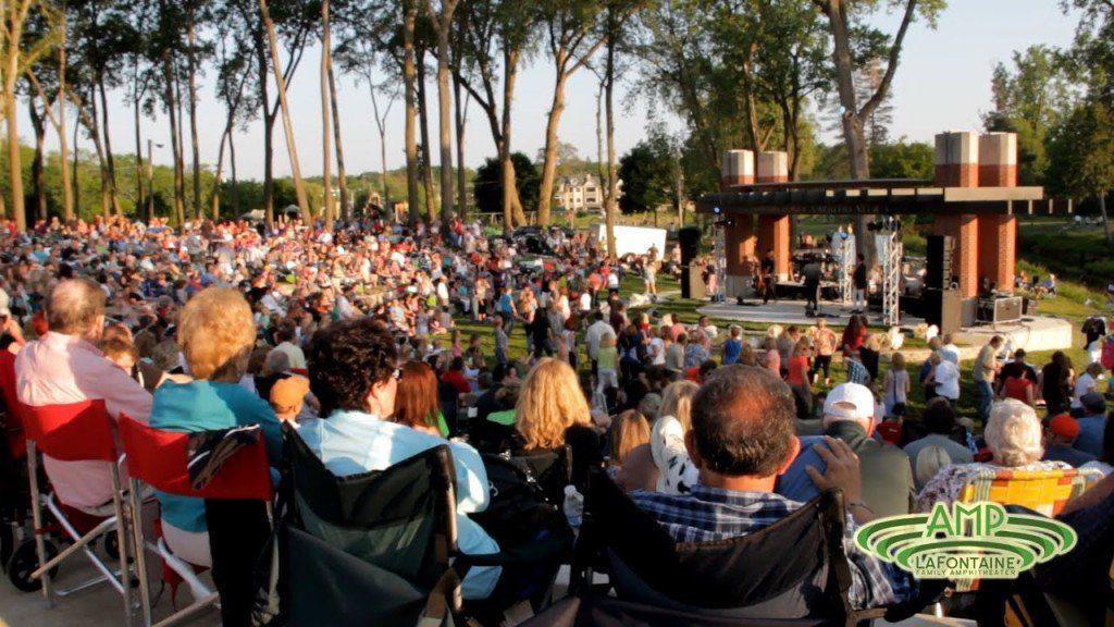 la fontaine amphitheater Michigan