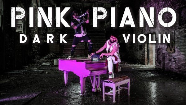 Pink Piano // Awesome Violin Beat Visualization - B2wins (Prod by KParyo)