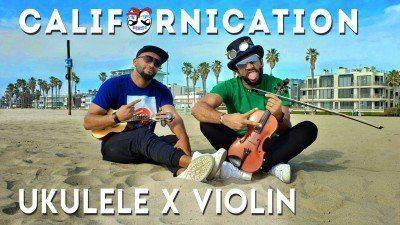 Californication Violin Ukulele Acoustic Cover