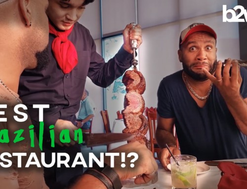 Brazilian Twins Try BAH Brazilian Steakhouse – Most Authentic In Iowa?!