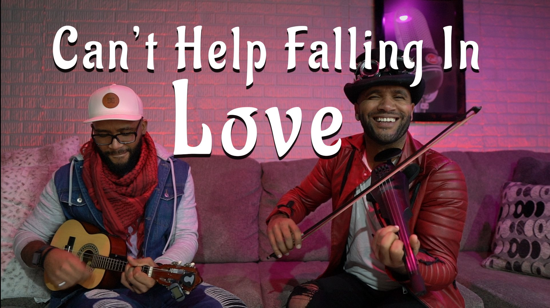 Cant help falling in love violin ukulele cover