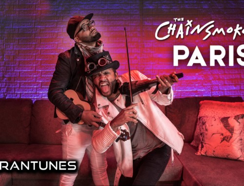 """Paris"" Chainsmokers // Electric Violin x Ukulele Freestyle // B2wins QuaranTunes #TogetherAtHome"