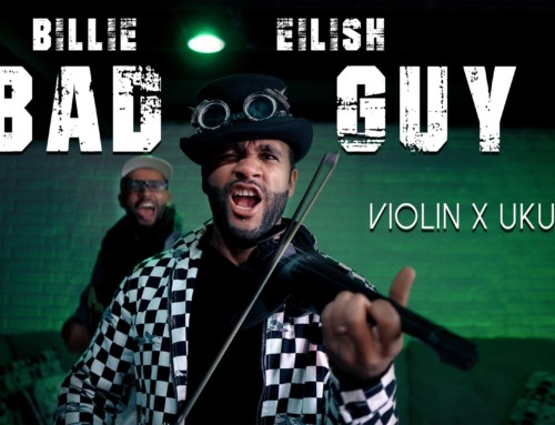 """Bad Guy"" Billie Eilish //Violin x Ukulele // B2wins Quarantunes #TogetherAtHome"