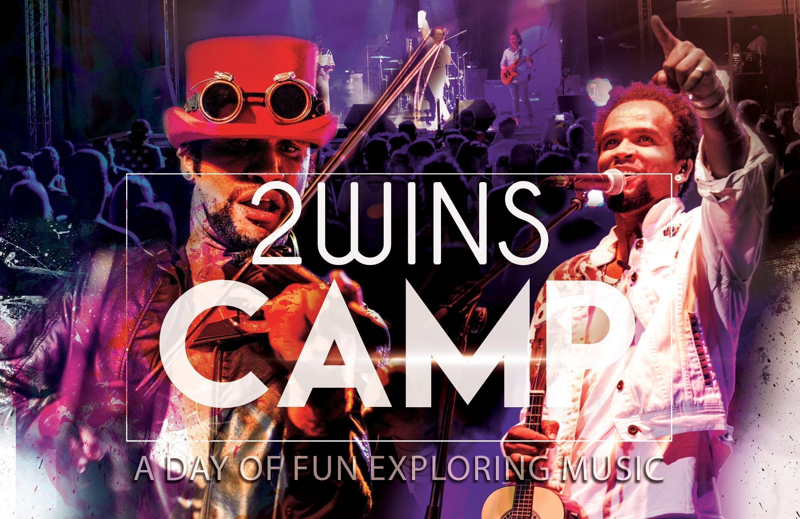 2wins Camps – A Day of Fun Exploring Music