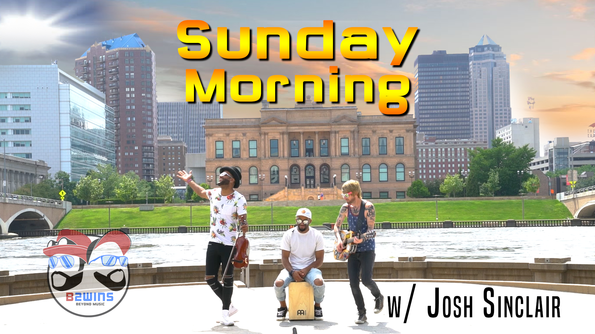 B2wins Sunday Morning Maroon 5 Cover